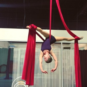 Rubberband Rebecca - Aerialist in Palatka, Florida