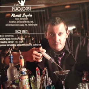 Russell Snyder Bar Tending Services - Bartender in Wilmington, North Carolina