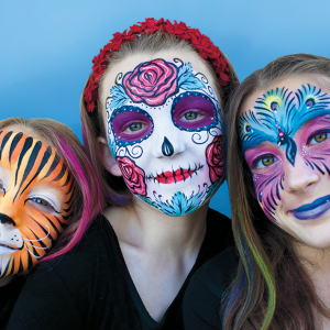 Sacred Earth Arts - Face Painter / Halloween Party Entertainment in Ormond Beach, Florida