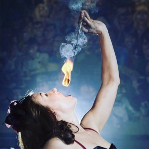 Sadie Blaze - Fire Eater / Burlesque Entertainment in Pensacola, Florida