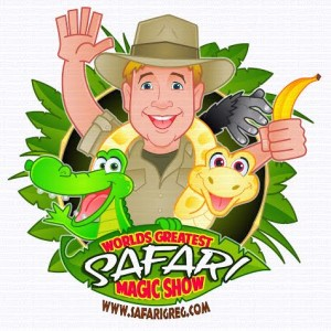 Safari Greg & The Amazing Urban Safari! - Children's Party Magician / Animal Entertainment in Austin, Texas