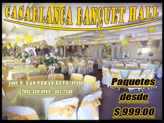 Hire Salon De Fiestas Casablanca Banquet Hall Event