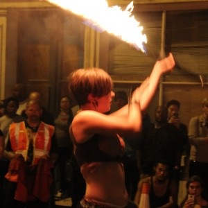 Sam Africa - Fire Performer in Richmond, Virginia