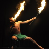 Samoan Fire Dancer - Polynesian Entertainment in Lakewood, Washington
