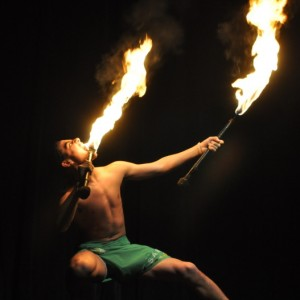 Samoan Fire Dancer - Polynesian Entertainment in Fort Benning, Georgia