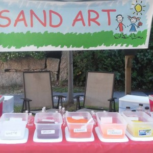 Sandy Fun (sand Art) - Arts & Crafts Party in Wareham, Massachusetts