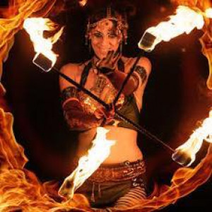 Sangre Del Sol/Solar Rain - Fire Dancer / Street Performer in Austin, Texas