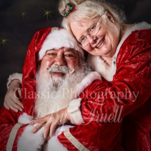 Santa Alan & Mrs. Claus