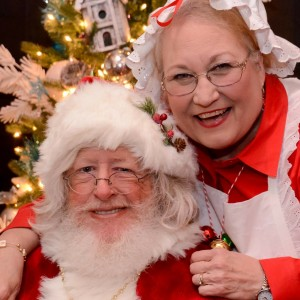 Santa and Mrs Claus - Santa Claus in Greenville, North Carolina