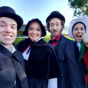 Santa Ana's Little Helpers - Christmas Carolers in Santa Ana, California