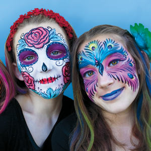 Pacific Party Services: Face Painting, Henna, and More! - Face Painter in Santa Barbara, California