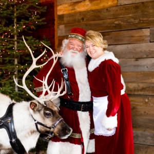 Santa Brad and Mrs. Claus - Santa Claus in Willard, Utah