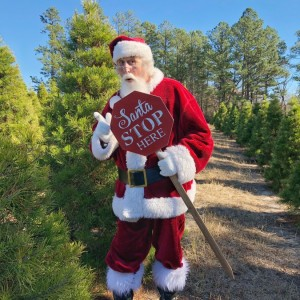 Santa Bugg - Santa Claus in Hot Springs National Park, Arkansas
