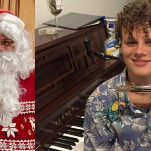 Piano Man & Santa - Billy Joel Tribute Artist in Great Falls, Virginia