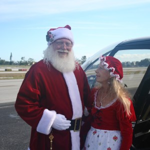 Santa Sunrider and Mrs. Claus - Santa Claus in Fort Lauderdale, Florida