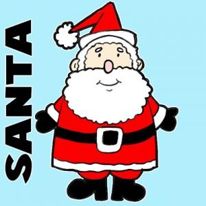 Santa Claus & Reindeer - Santa Claus in El Paso, Texas