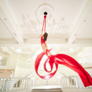 Sanya Ismail - Aerialist - Aerialist / Mardi Gras Entertainment in Houston, Texas