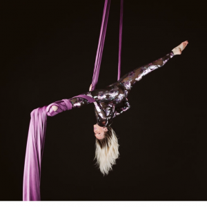 Sara in the Air - Aerialist in Kansas City, Missouri