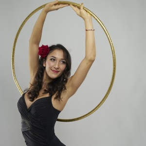 Sara Kunz & The Flyin Hawaiian Show - Circus Entertainment / Hoop Dancer in Somerville, Massachusetts