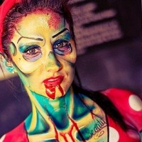 Sara Meyer Body Art - Body Painter / Airbrush Artist in Pewaukee, Wisconsin