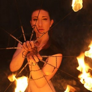 Sarah Moon Beam - Fire Performer in Shelton, Connecticut