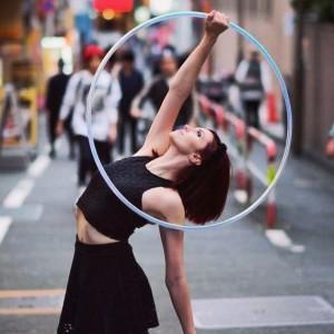 Sarah Noel Performance Art - Hoop Dancer in Austin, Texas