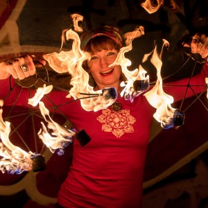 Sarah Sparkles of Sparkle and Burn Hoop Dance - Fire Performer in Milwaukee, Wisconsin