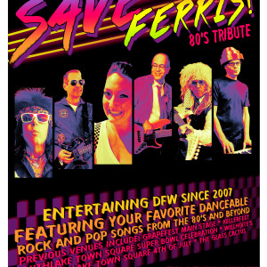 Save Ferris! 80's Tribute Band - 1980s Era Entertainment in Colleyville, Texas