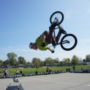 School Assembly Programs   High Action Bikes