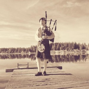 Matthew Fleek - Bagpiper in Stanwood, Washington