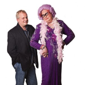 Scott Mason as Dame Edna - Dame Edna Impersonator / Impersonator in Newark, Delaware