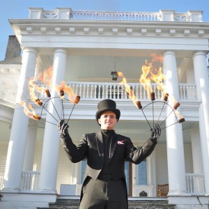 Sean McGoey - Stilt Walker / Fire Performer in Matamoras, Pennsylvania