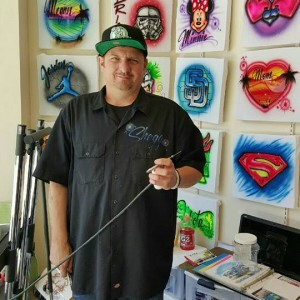 Serious Air Custom Airbrushing - Airbrush Artist in Spring Valley, California