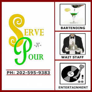 Serve & Pour - Wait Staff / Wedding Planner in Washington, District Of Columbia
