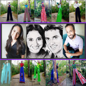 Seth & Emily - Interactive Performer / Stilt Walker in Jacksonville, Florida