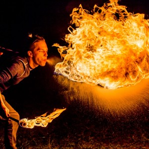Will - Fire Performer in Raleigh, North Carolina
