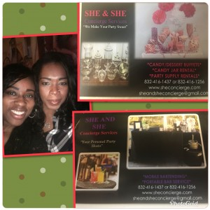 She and She Party Concierge - Bartender / Candy & Dessert Buffet in Houston, Texas
