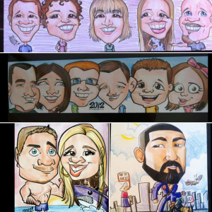 Shea's Art Services - Caricaturist / Face Painter in Prescott, Arizona