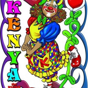 Kenya the Klown - Face Painter / Children's Party Entertainment in Winston-Salem, North Carolina