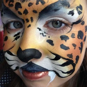Shimmering Glam Face Painting - Face Painter in Moorpark, California