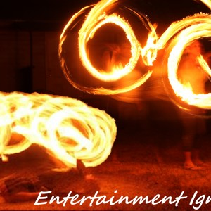 Side Fire - Fire Dancer in Fort Worth, Texas