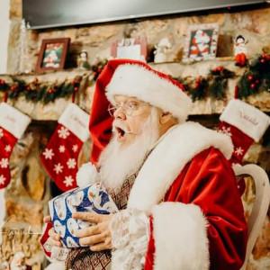 """Santa Claus"" authentic real beard Kris Kringle - Santa Claus in Dunellen, New Jersey"