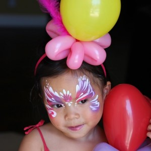 Silly Faces on Parade - Face Painter / Halloween Party Entertainment in Irvine, California