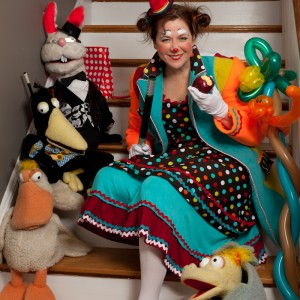 Silly Sally's Entertainment - Children's Party Entertainment / Storyteller in Los Angeles, California
