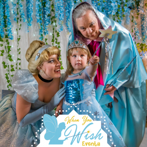 When You Wish Events - Princess Party in Bellingham, Washington