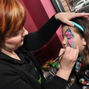 Sister Act Face Painting - Face Painter / Halloween Party Entertainment in Overland Park, Kansas