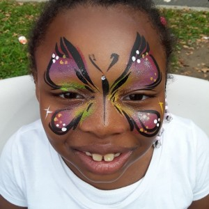 Sizzling brush - Face Painter in Brooklyn, New York