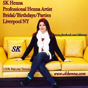 SK Henna - Henna Tattoo Artist / Body Painter in Liverpool, New York
