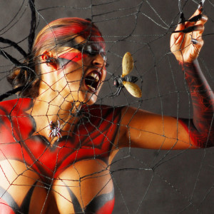 Skin Tight Body Art - Body Painter / Halloween Party Entertainment in San Diego, California