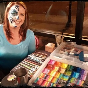 Skin Tight Face Painting & Body Art - Face Painter / Halloween Party Entertainment in Bozeman, Montana